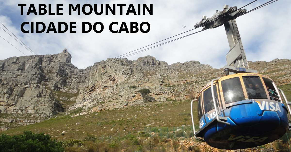 cidade do cabo - table mountain