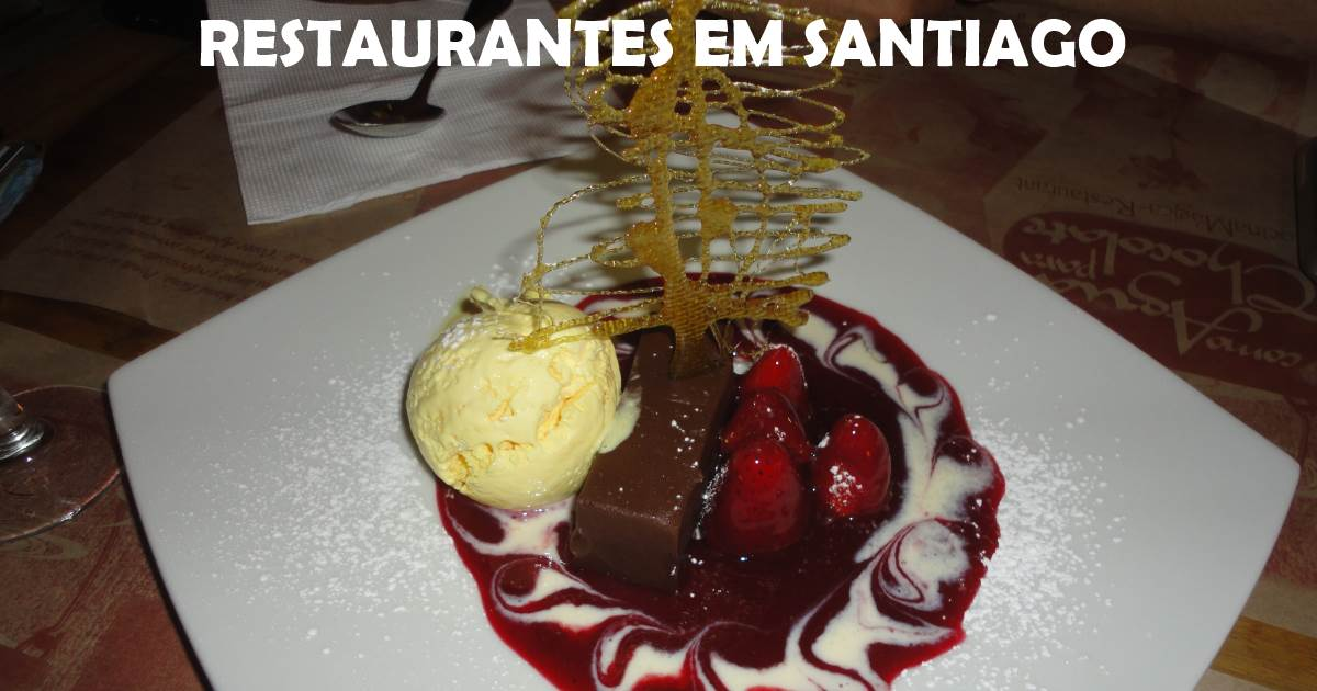santiago - restaurantes
