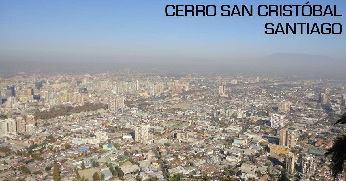 santiago - cerro san