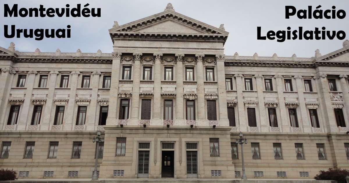 montevideu - palacio legislativo