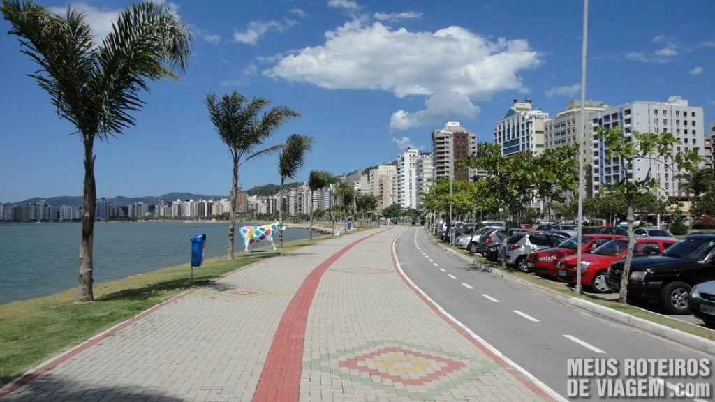 Calçadão e Ciclovia da Av. Beira-Mar Norte - Florianópolis
