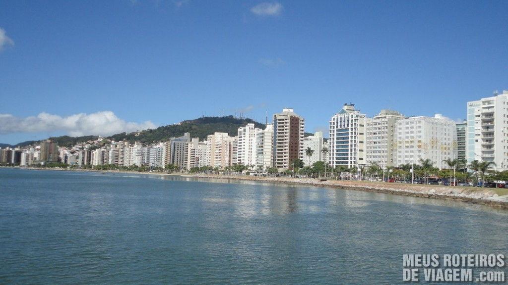 Prédios da Av. Beira-Mar Norte - Florianópolis