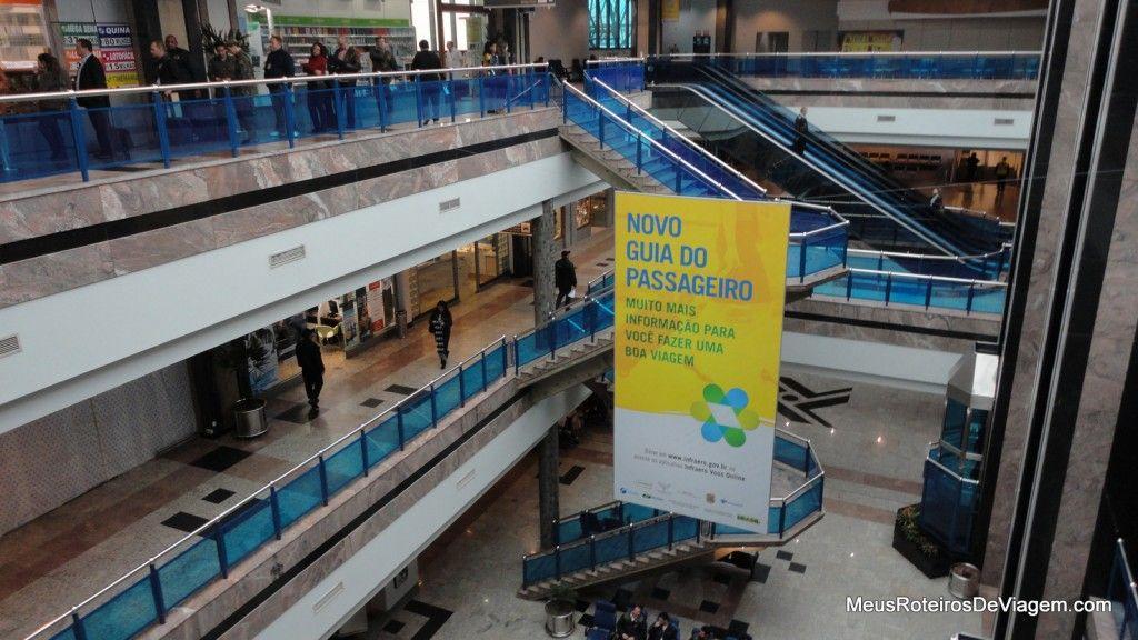 Vão central do Aeroporto de Porto Alegre