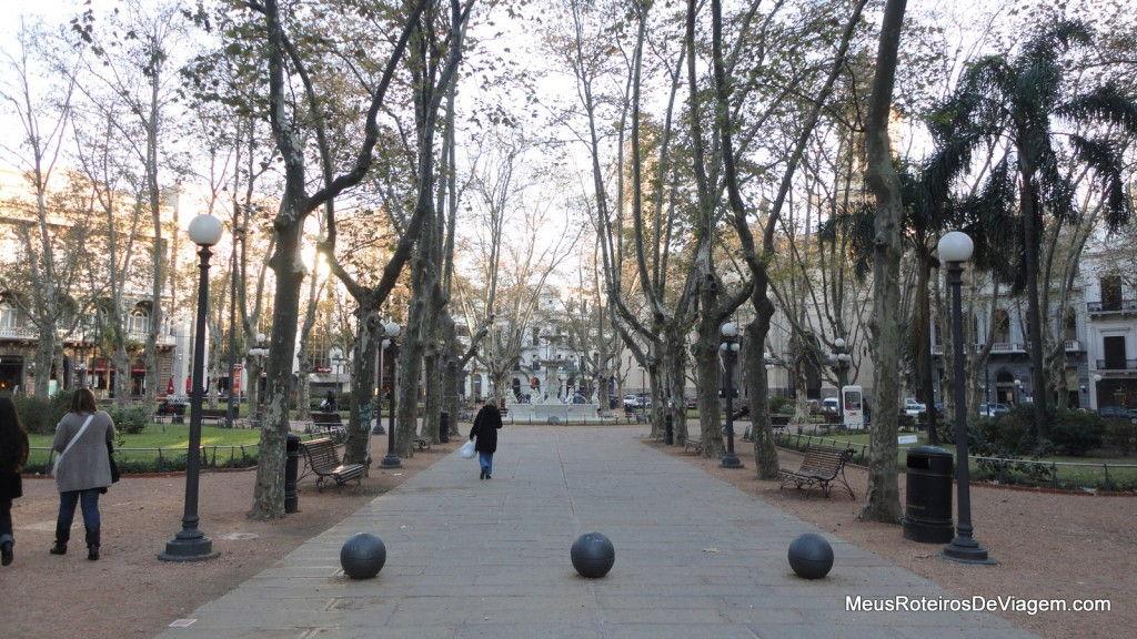 Plaza Constitución - Montevidéu
