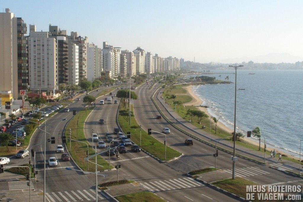 Av. Beira-Mar Norte, vista do hotel Majestic