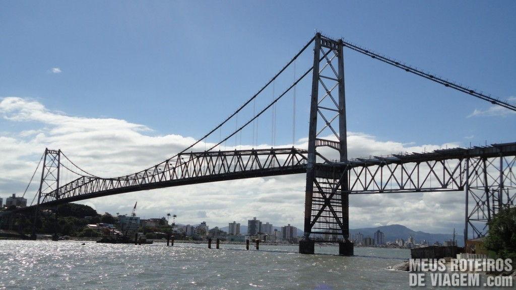 Ponte Hercílio Luz - Florianópolis
