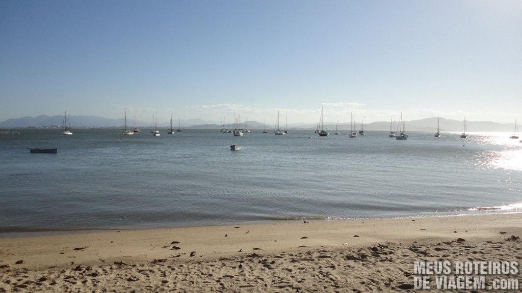 Praia de Santo Antônio de Lisboa - Floripa