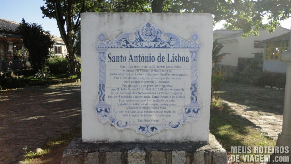 Azulejos em Santo Antônio de Lisboa - Floripa