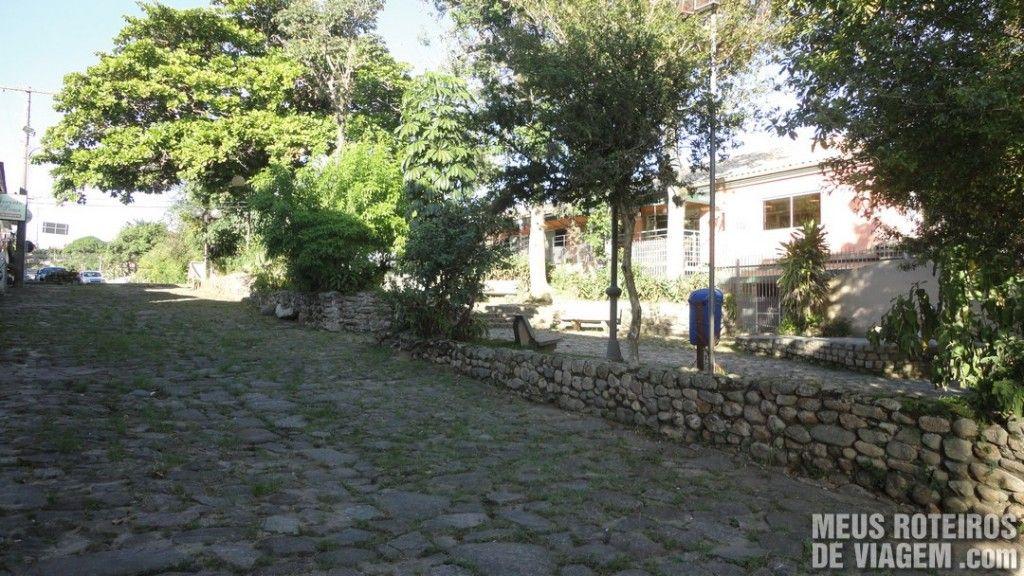 Rua de pedra em Santo Antônio de Lisboa - Floripa