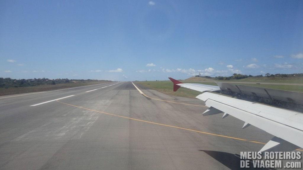 Pista do Aeroporto de Salvador
