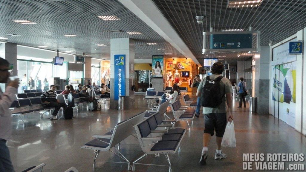 Sala de embarque do Aeroporto de Salvador