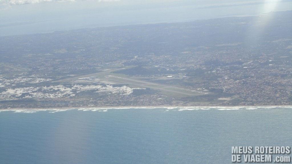 Vista aérea do Aeroporto de Salvador