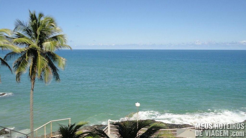 Vista do quarto do Hotel Mercure Salvador Rio Vermelho