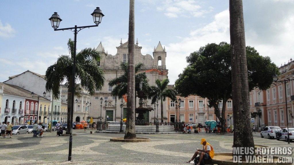 Terreiro de Jesus / Praça 15 de Novembro - Salvador, Bahia
