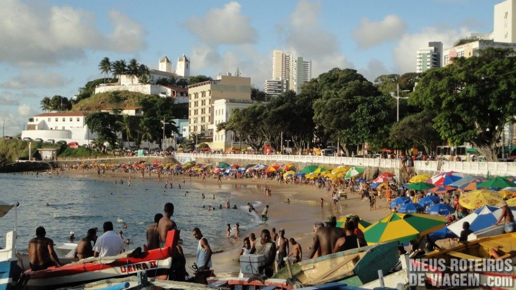 Praia do Porto da Barra - Salvador, Bahia