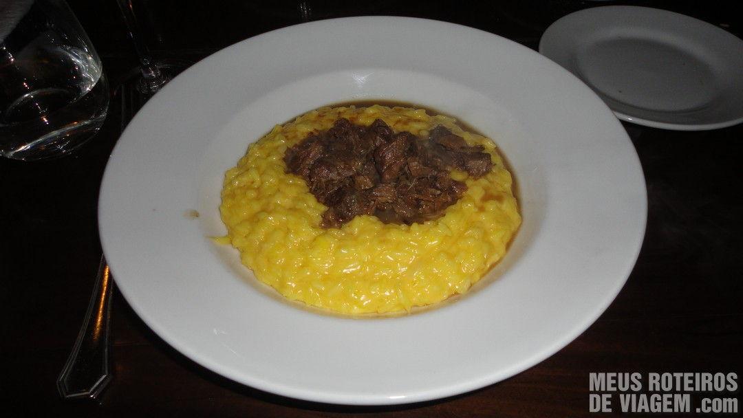Risotto con Ossobuco - Restaurante Sucre, Buenos Aires