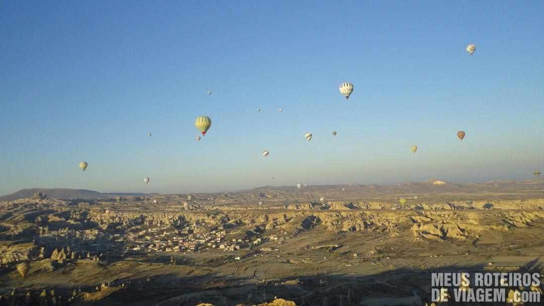 Balões no céu da Capadócia - Turquia