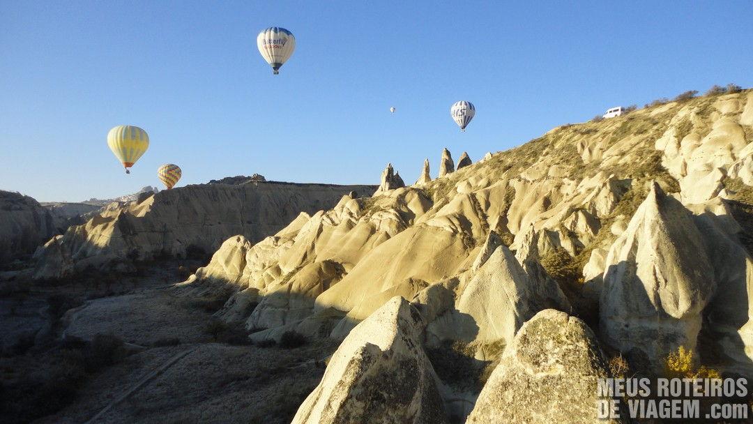 Voo de balão na Capadócia - Turquia