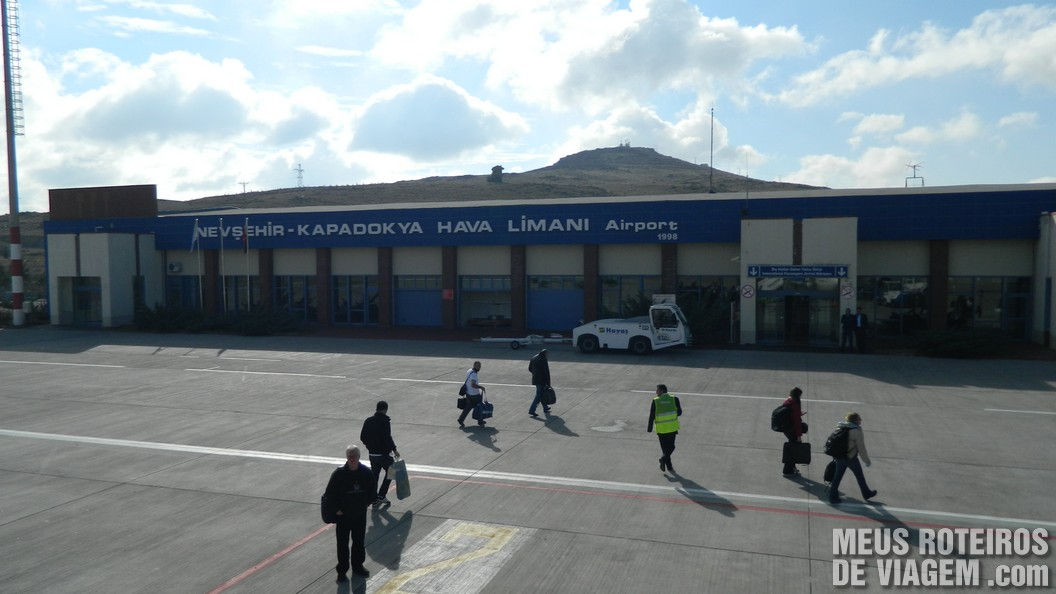 Aeroporto de Nevsehir - Capadócia, Turquia
