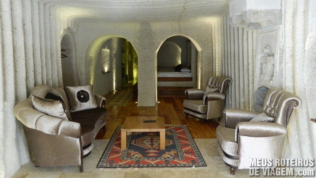 Quarto 203 do Ottoman Cave Suites - Goreme, Capadócia
