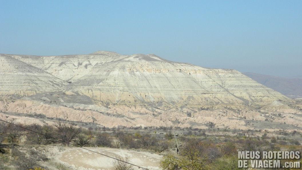 Vale Rosa e Vermelho - Capadócia, Turquia