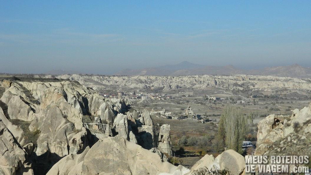 Paisagem lunar da Capadócia - Turquia