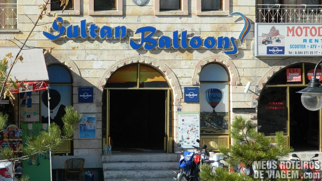 Sede da Sultan Balloons em Goreme - Capadócia, Turquia