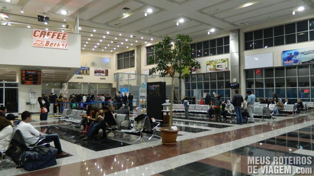 Aeroporto de Kayseri - Capadócia, Turquia