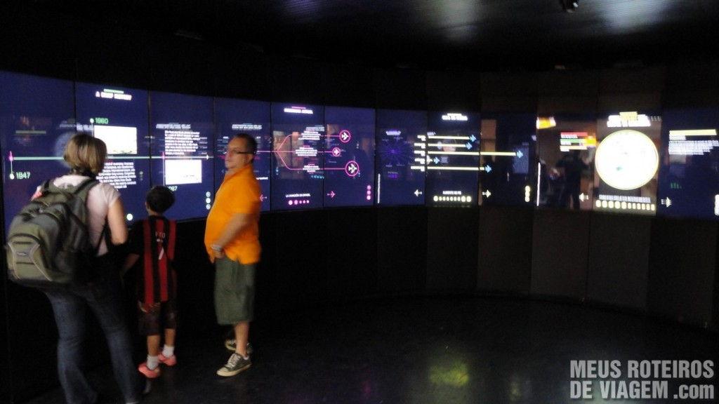 Espaço interativo no Aeroporto de Guarulhos - GRU Airport