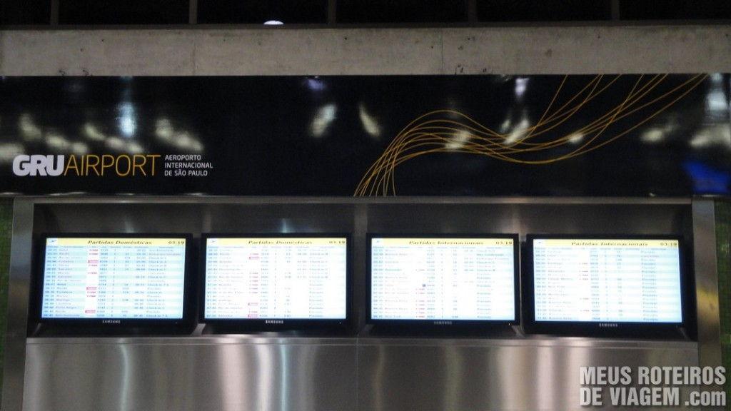 Telas no Aeroporto de Guarulhos - GRU Airport