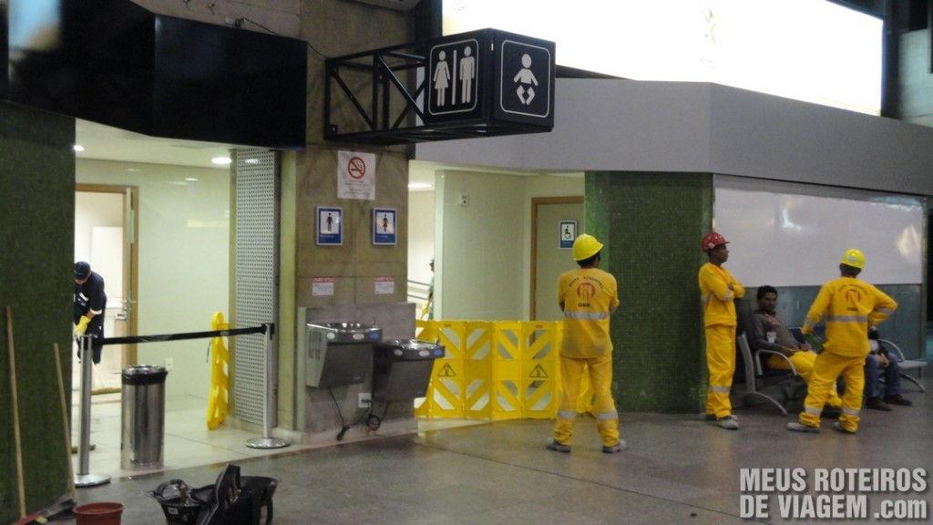 Obras no Aeroporto de Guarulhos - GRU Airport