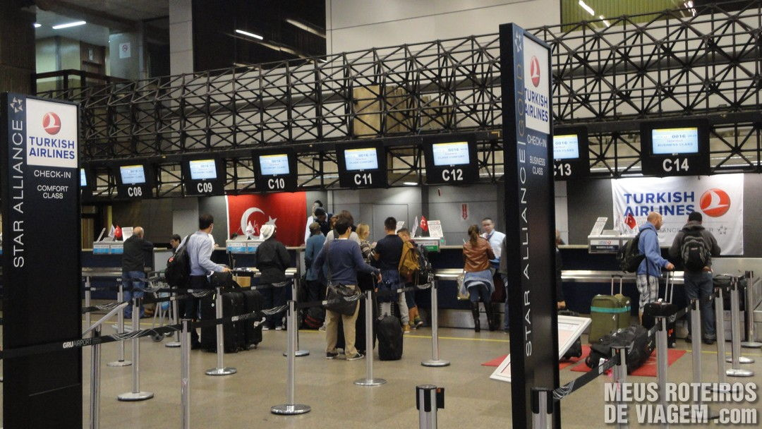 Turkish airlines check in