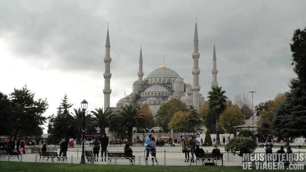 Mesquita Azul / Mesquita de Sultanahmet - Istambul, Turquia