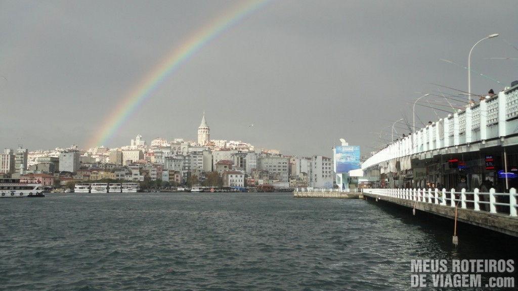 Ponte de Galata - Istambul, Turquia