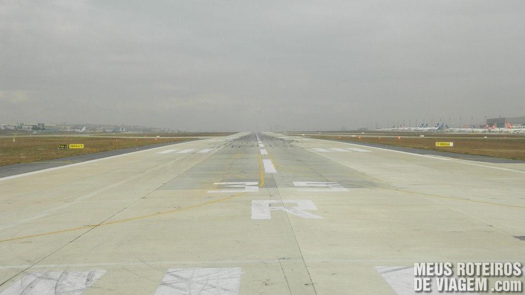 Pista do Aeroporto de Istambul