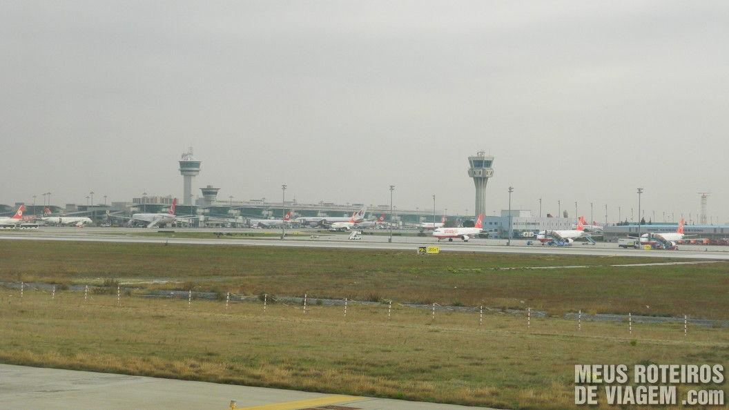 Aeroporto Internacional de Istambul Ataturk - Turquia