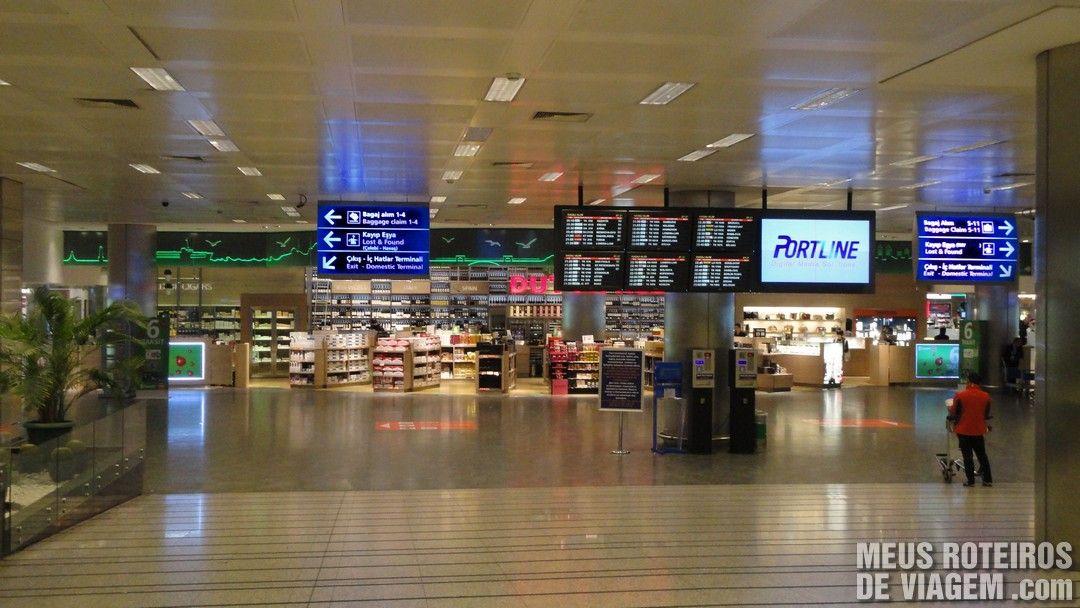 Duty Free do Aeroporto Internacional de Istambul Ataturk