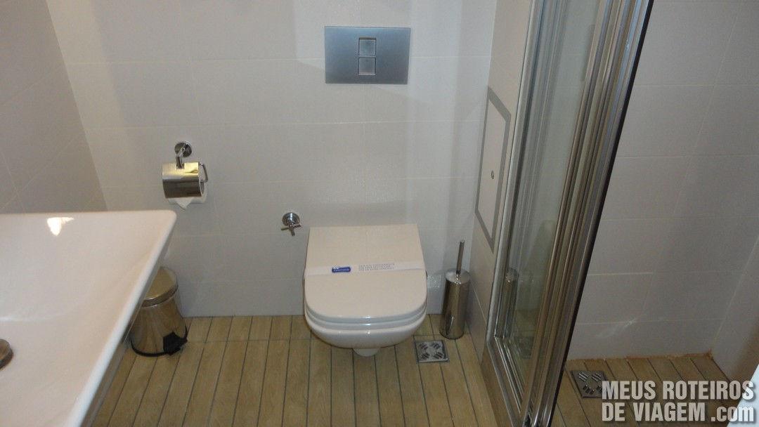Banheiro do  Aston Residence - Istambul, Turquia