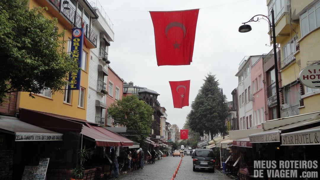 Rua Akbıyık Caddesi - Istambul, Turquia