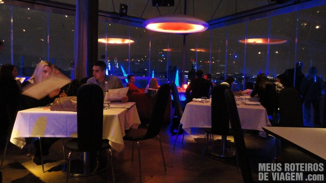Restaurante Istanbul 360 - Istambul, Turquia