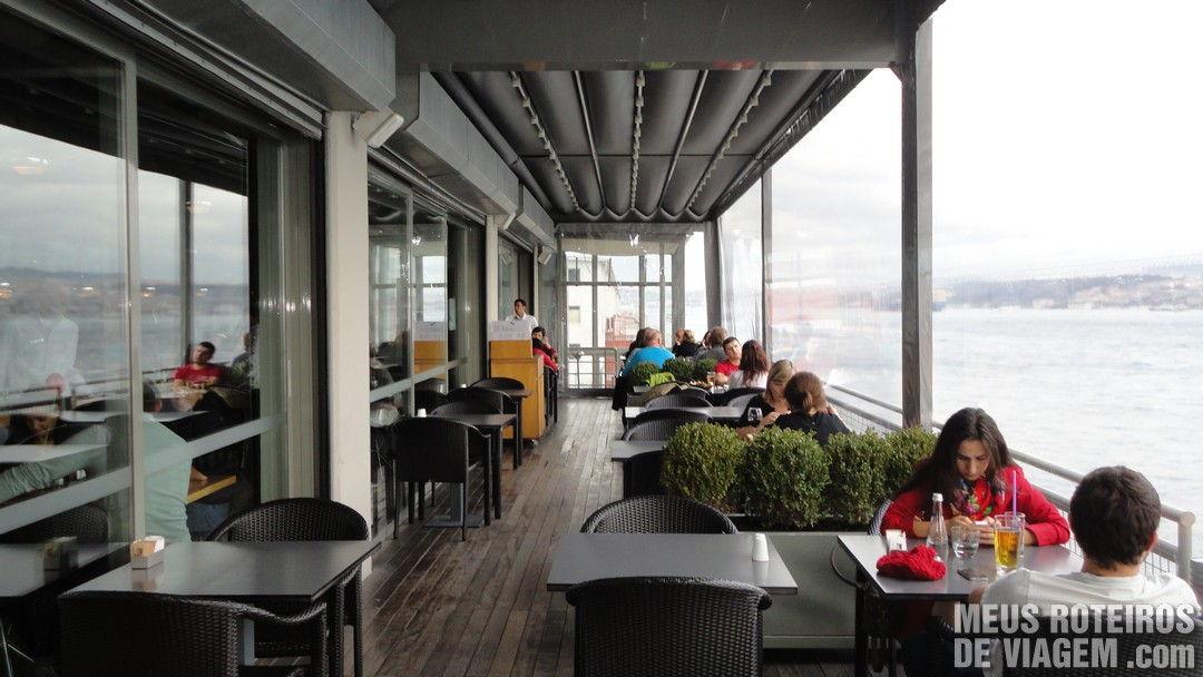 Restaurante do museu Istanbul Modern - Istambul, Turquia