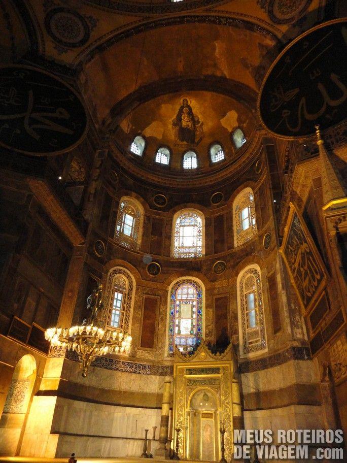 Basílica de Santa Sofia - Istambul, Turquia