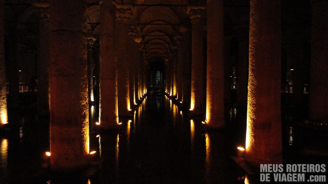 Cisternas da Basílica - Istambul, Turquia