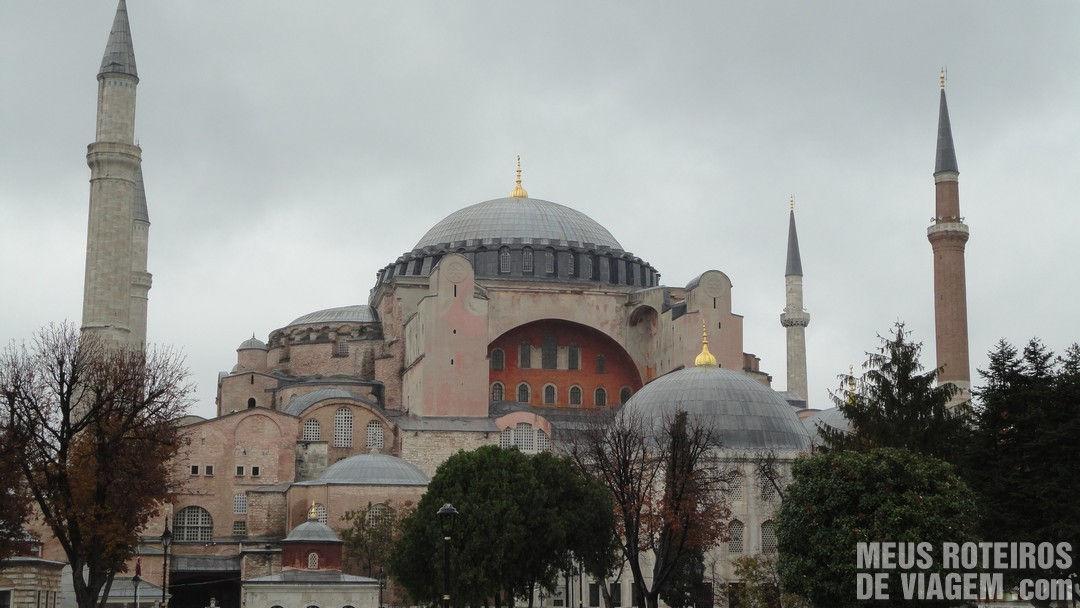 Istambul: A Basílica de Santa Sofia e a Mesquita Azul