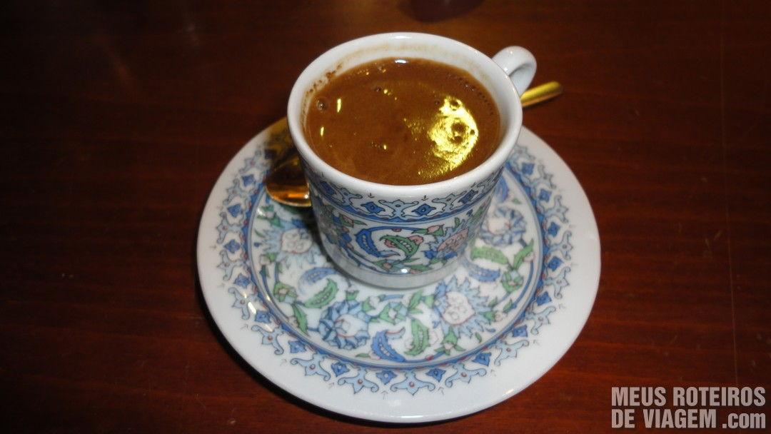 Café Turco no Grande Bazar - Istambul, Turquia