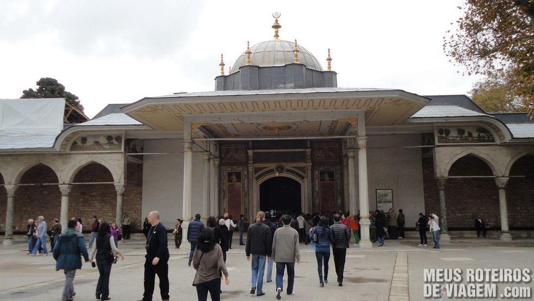 Palácio Topkapi - Istambul, Turquia