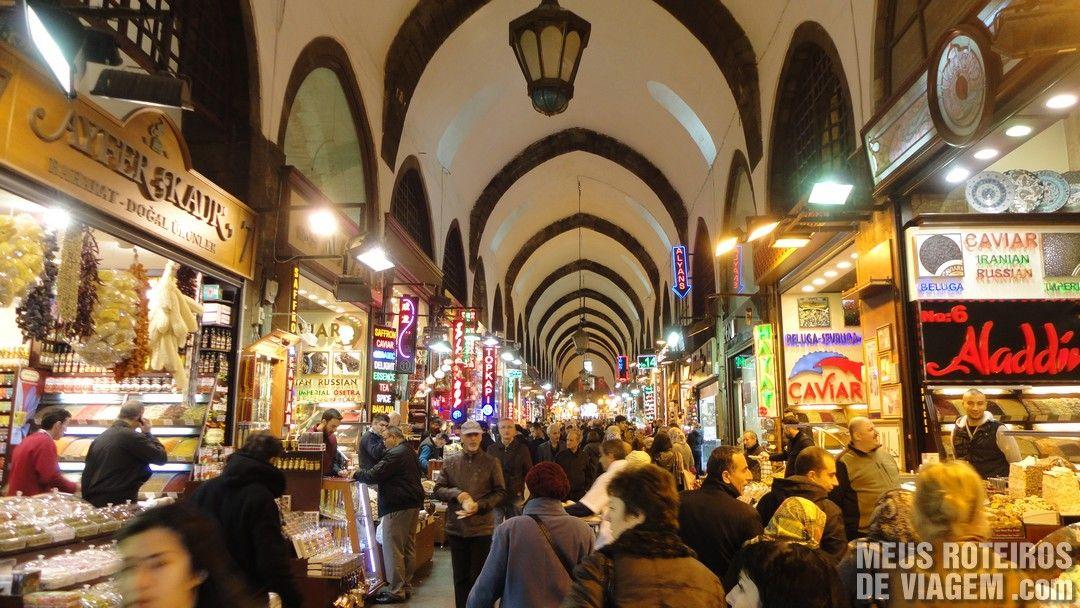 Bazar de Especiarias - Istambul, Turquia