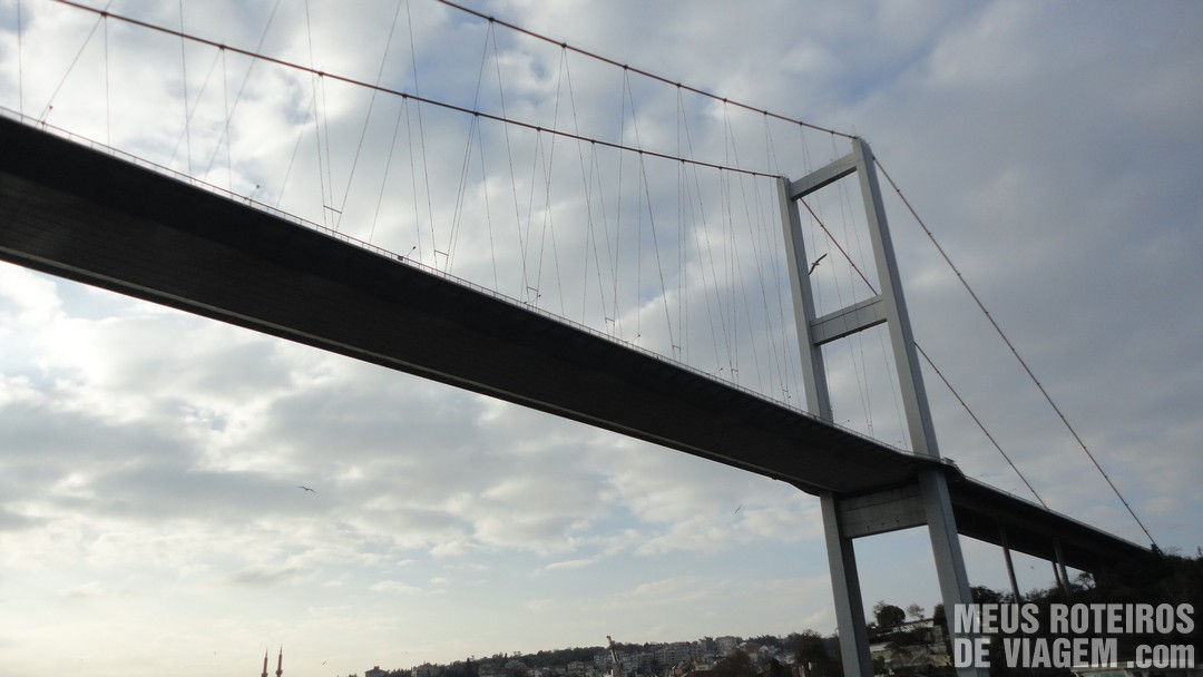 Ponte do Bósforo - Istambul, Turquia