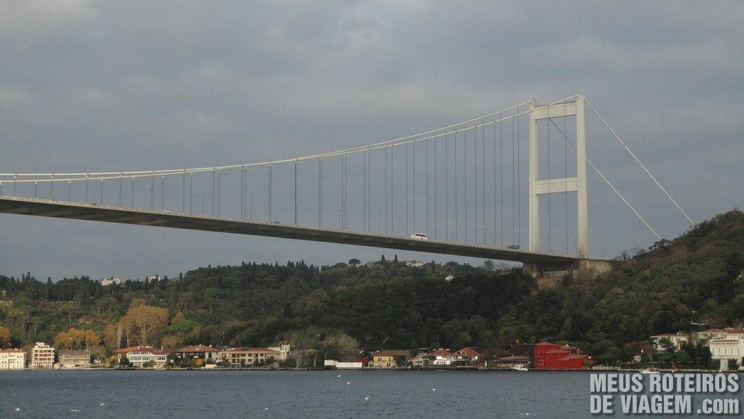 Ponte Fatih Sultão Mehmet - Istambul, Turquia