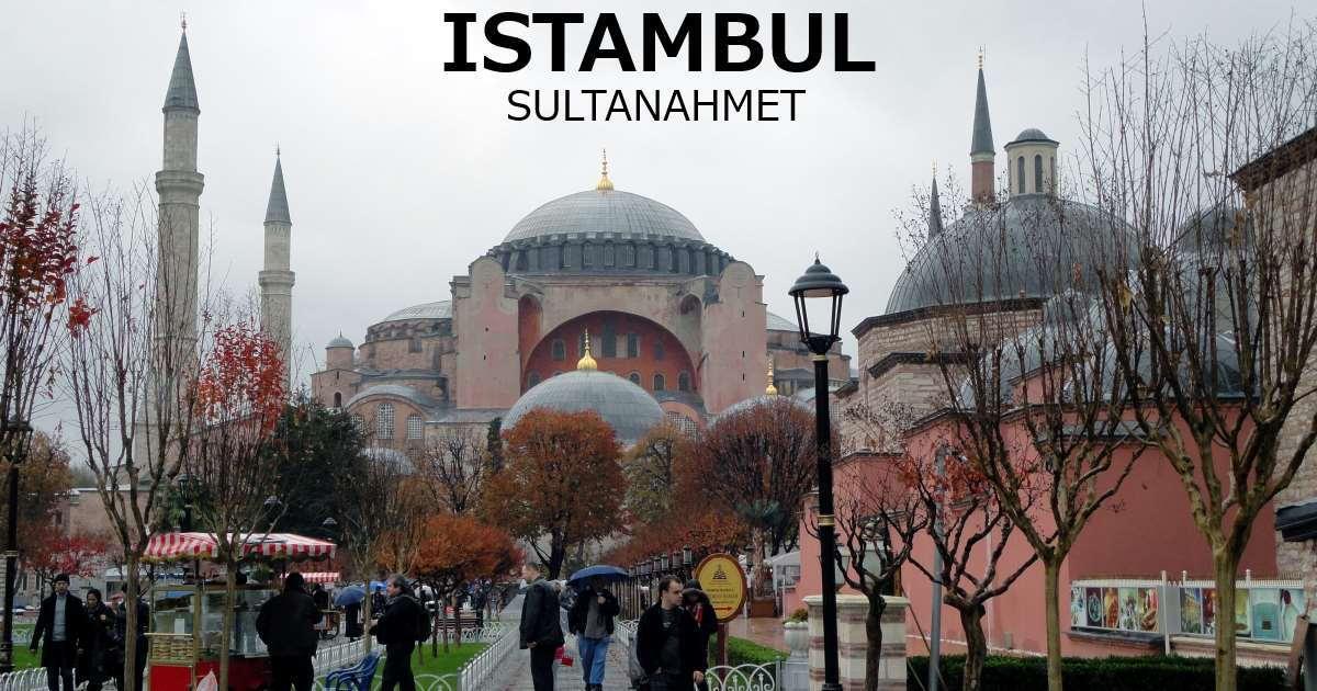 istambul - sultanahmet